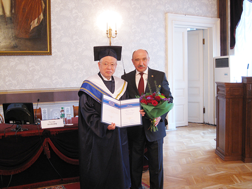 President Noyori's Honorary Doctorate