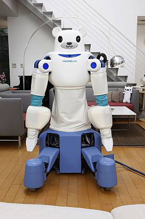 Photo of the ROBEAR robot