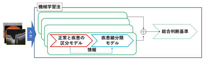 本研究で開発した機械学習法の手順の図