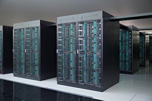 スーパーコンピュータ「富岳」(開発・整備中)の画像