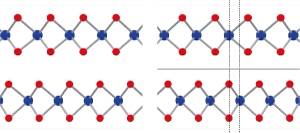 Image of atoms in few-layer molybdenum disulfide