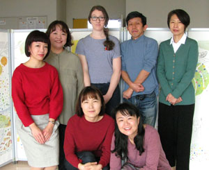 small picture of the researchers