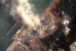 small image of nuclear power plant at Fukushima