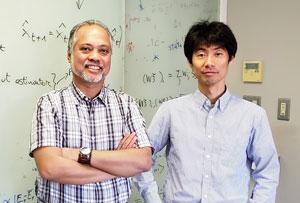 image of Roberto Legaspi and Taro Toyoizumi