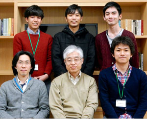 image of Sadashige Matsuo and his colleagues