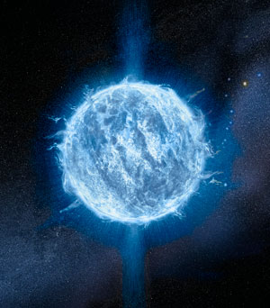 Image of a neutron star